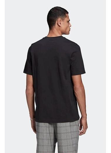 adidas Adidas Erkek Günlük T-Shirt Trefoil Gn3462 Siyah